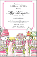 Product Image For Bridal Table Invitation