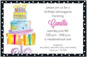 Product Image For Cake Glow Invitation
