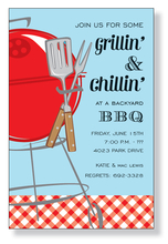 Product Image For Summer Grill Invitation