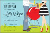 Product Image For Summer Couple Invitation
