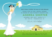 Product Image For Classic Country Bride (Blonde) Invitation