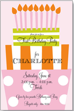 Product Image For Fun Day Girl Invitation