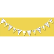 Product Image For Wishes & Whimsy Bridal Partyware in Yellow Banner