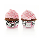 Product Image For Vavavoom Vintage Baby Pink Partyware Cupcake Wraps