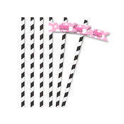 Product Image For Perfect Partygirl Partyware - Straw Flags