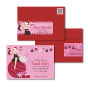 Product Image For Ornament Mom-To-Be Glam Mail Address Labels and Coordinating Envelopes