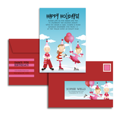 Product Image For Perfect Partygoers Glam Mail Address Labels and Coordinating Envelopes