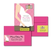 Product Image For Belly Baby Shower (Pink) Glam Mail Address Label