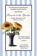 Product Image For Sunflower Invitation