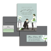 Product Image For Popping The Question #2 Glam Mail Address Label