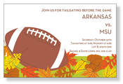 Product Image For Fall Football Invitation
