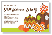 Product Image For Funky Pumpkin Invitation