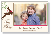Product Image For Festive Reindeer Photo Card