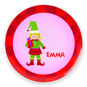 Product Image For Cute Elf (Girl-Blonde) Plate