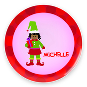 Product Image For Cute Girl Elf Plate