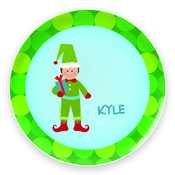 Product Image For Cute Elf (Boy-Brunnette) Plate