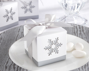 Product Image For Winer Dreams Laser Cut Snowflake Favor Box