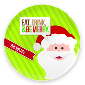Product Image For Eat, Drink & Be Merry Plate