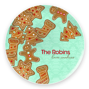 Product Image For Yummy Xmas Cookies Plate