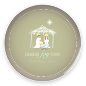 Product Image For Wishful Nativity Plate