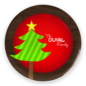 Product Image For Big Christmas Tree Plate