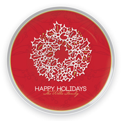 Product Image For Holiday Snowman Plate