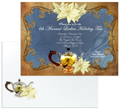 Product Image For Victorian <em>Tea</em> party Invitation