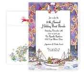 Product Image For Holiday Boat Parade Invitation
