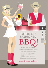 Product Image For Southwest BBQ (Blonde) Invitation