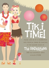 Product Image For Tiki Time! (Blonde) Invitation