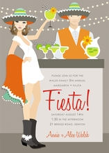 Product Image For Fiesta (Brunette) Invitation