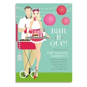 Product Image For Backyard BBQ (Blonde) Invitation