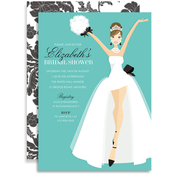 Product Image For Fashionista Bride-To-Be (Brunette) Invitation