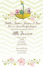 Product Image For Chevron Umbrella Invitation