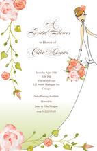 Product Image For Dressed All In White Invitation