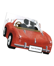 Product Image For Red Convertible w/White Ribbon and Tulle