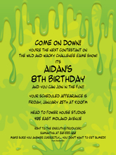 Product Image For Slime TIme Invitation