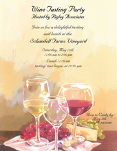 Product Image For Pouring Wine Invitation