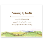 Product Image For Barbeque Response Card