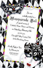 Product Image For Mardi Gras Masjestic Digital Invitation