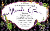Product Image For Dixieland Mardi Gras Digital Invitation