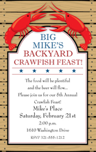 Product Image For Crawfish Feast Invitation