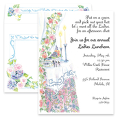 Product Image For Ladies Floral Luncheon Invitation