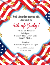 fourth of july invitations fourth of july stationery