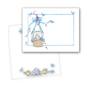 Product Image For Baby and Cradle Invitation