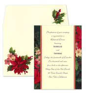 Product Image For Holiday Pointsettia on Ivory