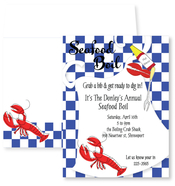 Product Image For Seafood Boil Bib Invitation