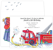Product Image For Fire Department Invitation