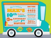 Product Image For Food Truck Fun Invitation