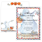 Product Image For Haunted Hay Ride Invitation